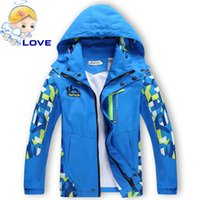 Wholesale Boys Blazer Blue 12 - S111 Kids Softshell Toddler Baby Boys Hooded Jacket Coat Clothes Spring Children Outerwear Jackets Windbreaker Waterproof Blazer