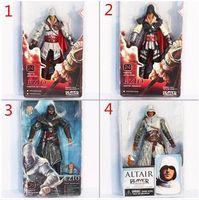 Wholesale Ezio Figure - Hot sale NECA ASSASSIN'S CREED II 2 EZIO ACTION FIGURE WHITE,Assassin's Creed II 7