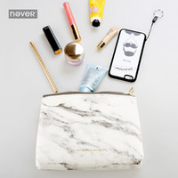 Wholesale Portable File Storage - Never Marble Edition File Bag Creative Portable Office Lady Pencil Storage Bag Office Accessories School Supplies Stationery