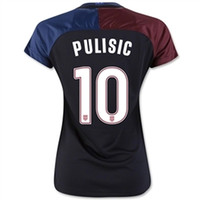 Wholesale Matching Top Shorts - 17 18 USA Women Jerseys,2017 3rd Vapor Match Jersey (Gym Red) #10 Pulisic ,#8 DEMPSEY Jerseys, Customized Womens Tops,Thai Quality Jersey