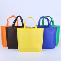 Wholesale Christmas Groceries - Wholesale Shopping Bags Foldable bags Reusable Grocery tote Convenient Totes Bag Shopping Cotton Tote Bag red blue brown orange
