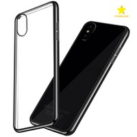 Wholesale Iphone Crystal Gold - For Iphone 8 Plus iPhone X 7 6 Plus Samsung S8 S8 plus S7 Crystal Gel Case Ultra-Thin transparent Soft TPU Cases