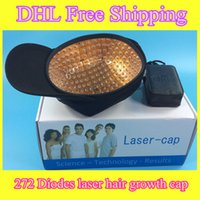 Wholesale Grow Products - hair growth laser cap best hair regrowth product laser hair grow led light therapy 650nm diode cap