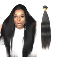 "Wholesale European Straight Virgin Hair - Anemone 8""-36"" Great Length Straight Brazilain Virgin Peruvian Human Hair Weaves Bundles 1Pc lot Malaysian Hair Extensions Double Weft"