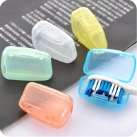 Wholesale Travel Toothbrush Covers - Wholesale- Toothbrush Cover Brush Cap Case Portable Travel Hiking Camping 1pc Free Shipping