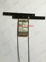 Wholesale Gsm Module Antenna - Wholesale- ME909S-120 +2PCS 19CM 4G strong signal antenna HUA WEI 100% NEW&Original Mini PCIe FDD LTE 4G WCDMA GSM Support GPS Module