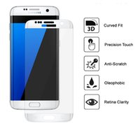 Wholesale Glass Lcd Screen Protector - S8 plus 3D Curved Tempered Glass Colorful Full Front Color LCD 9H HD Premium Screen Protector for Sumsung Note7 S7 Edge S6 Edge