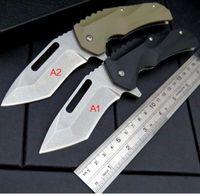Wholesale Knife Hrc - medford 440C blade 58-59 HRC G10 handle Survival Folding Knife Gift Knife Outdoor Tools OEM xmas 1pcs