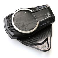 Wholesale Suzuki Speedometers - SpeedoMeter Gauge Tach Clock Cluster Cover For Suzuki GSXR750 GSX-R 600 2011 2012 2013 K11