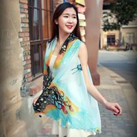 Wholesale Scarves Decorative - 2017 scarf scarf scarf multifunctional decorative chiffon shirt summer sun protection clothing wholesale female beach towel