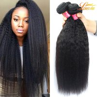 Wholesale Processed Peruvian Hair - Factory Brazilian Malaysian Peruvian Indian Virgin Hair Unprocessed Brazilian Human Kinky Straight Hair Extension Virgin Human Yaki Weave