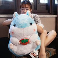 Wholesale Cute and fat hamster doll stuffed with stuffed doll and stuffed pillow for birthday presents for girls or boys