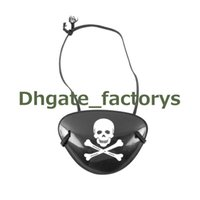 Wholesale Skull Eye Patch - Pirate Eye Patch Skull Crossbone Halloween Party Favor Bag Costume Kids Toy