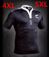 Wholesale Top Elastic Waist - 2017 new All Black home rugby Jersey refuelled New Zealand 100 to commemorate top quality super rugby shirts men euro size S - 5 xl