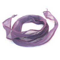 Wholesale Yoga Bar - Wholesale- New Arrival 10 Colors Sari Silk Ribbon Wrap Yoga Fashion Women Bracelet Accessories