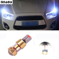 Wholesale Canbus Led Lights - BOAOSI Car Canbus LED T10 W5W Clearance Parking Light Wedge Lights For Mitsubishi asx lancer 10 outlander 2013 pajero l200 Expo