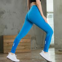 Wholesale Girl S Night - Running Compression Trousers Skinny Sports Fitness Tight Gym Training Yoga Leggings Women Night Jogging Pant Girls Skinny Yoga Pants