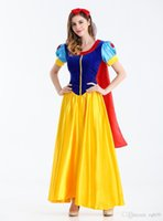 Wholesale Play Snow White - Bead close love snow white game uniform small red hat suit Halloween Costume cosplay costume play Dunhuang explosion fashion new suit