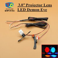 2pcs / Lot, LED Devil Eye Demon Eye para 3