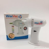 Wholesale Hot Health Vac Vacuum Ear Cleaner Machine Electronic Cleaning Ear Wax Remove Removes Earpick b762
