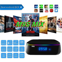 Compra Casella Canali Arabi-2017 Octa Core Amlogic S912 Box TV da 2 GB / 16 GB WIFI IPTV BOX Android M9S Supporto MIX H265 Europa Arabo Canali IPTV Media Player