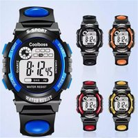 Niños Studets Deporte Relojes Multifunción LED Digital Militar Relojes Boy Girl Unisex Luminous Birthday Christmas Gift Wristwatch