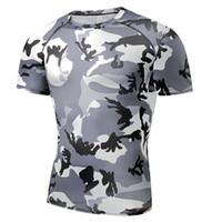 dee05da30 Camisas de Esportes de Marca de Alta Qualidade Tênis badminton Jersey  Correndo Camisas Camisa de Ciclismo T Camisa Traje Compressão Sportswear  Superhero Fi