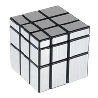 Wholesale Cast Puzzle - ShengShou 3x3x3 57mm Wire Drawing Style Cast Coated Magic Cube Challenge Gifts Puzzle Mirror Cubes Educational Toy Special Toys