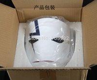 Wholesale Darker Black Mask - Movie Theme Japanese Mascara Party Masks Anime Smile Hei Lee Cosplay Hallowmas Darker Than Black Resin Thunder Ghost Mask