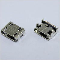 Wholesale Usb Socket Pcb - 200PCS  For Samsung Galaxy Trend Lite S7390 s7392 micro mini usb charge charging connector plug dock jack socket port pcb