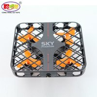 Wholesale Wholesale Speed Covers - 2017 Hot Sales 777-382 SKY Mini Cube Drone 100% Original RC Quadcopter RTF Fully Protected Cover 3D Roll Speed Switch Led Light