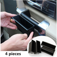 Wholesale Other Storage - 4pcs Interior Door Handle Storage Box For Land Rover Discovery 4 2010-2017 Container Holder Tray Accessories Car Styling