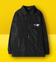 Wholesale Men Rainproof Jacket - fear of god Coconut tide, death slide, hip hop trainer jacket, rainproof, windproof kanye west ripndip