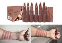 Wholesale Different Coloured Lipsticks - New Makeup Lipstick ROUGE LIP COLOUR Nicki Minaj Lipstick different colors!! Free Shipping