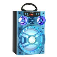 ingrosso unità mobile-Altoparlante Bluetooth per esterni Big Sound Altoparlante mobile Bluetooth 15W MS-188BT Unità di azionamento wireless multifunzione Bass Retroilluminazione colorata Radio FM