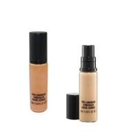 marca de maquillaje pro al por mayor-Hot Brand 9ML Makeup Liquid Foundation PRO LONGWEAR CONCEALER CACHE-CERNES 9ML Fundación Hot NC NW Mixed