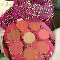 Wholesale Blush Palettes - New Makeup Tarte BIG Blush BOOK 3 Tarte blush palette 8 colors Blushes & Highlighter Limited Edition DHL Shipping