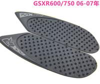 Wholesale Decal Suzuki - For Suzuki GSXR 600 750 2006-2007 GSXR600 GSXR750 K6 Protector Anti slip Tank Pad Sticker Gas Knee Grip Traction Side 3M Decal