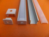 Wholesale profile ceiling - 2.5m pcs Hot Selling 6063 Series Aluminum LED Profile for LED Strip, LED Light Bar Aluminium Extrusion Profile for Wall or Ceiling Light