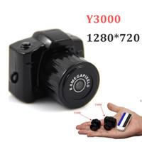 mini dv pouce achat en gros de-Caméscope Mini-Caméscope Mini-Caméscope DV HD 720P Mini-Noir