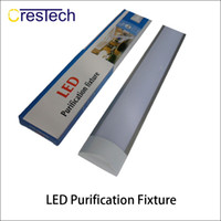 Wholesale 26w Led Tube - 18W 26W 36W 2FT 3FT 4FT Purification LED fixture Slimline LED Batten Linear Light Tube Fixture Ceiling Wall Surface Mounted