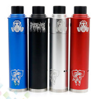 Wholesale material aluminium - Vaporizer Tomahawk X Mod Kit come with Apocalypse GEN 2 RDA 4 Colors fit 18650 Battery Aluminium Material DHL Free
