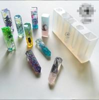ingrosso resina liquida-1 pz silicone liquido stampo fai da te resina gioielli ciondolo pendente collana lanugine stampo spedizione gratuita