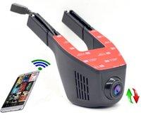 Wholesale Recording Chip - Car Camera FHD 1080P WIFI Car DVR Dash Cam Night vision Car Camera Black box With Novateks Chip and Sony IMX322 Sensor
