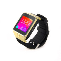 Liquidation écran tactile GSM Bluetooth Anti-Lost Smart Mobile Wrist Watch Téléphone portable FM