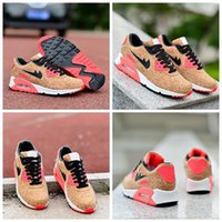 Wholesale Anniversary Pack - 2017 New 90 Anniversary Pack Cork Bronze Black Infrared Running Shoes For Men Women High Quality 90s Trainers Athletic Sports Sneakers 36-46