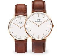 Wholesale watch men famous - New Mens Daniel watches 40mm Men watches 36 Women Watches Top brand Famous Quartz Watch Female Clock Relogio Montre Femme