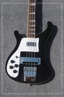 Wholesale Best China Bass Guitar - Left Hand Bass guitar 4003 Rick Electric Bass Guitar IN Black 4 Strings Bass guitar From China Best Selling Free Shipping