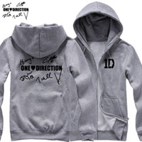 Wholesale I Love Liam - Wholesale-new 2017 free shipping I LOVE One Direction members' signature Niall Zayn Liam Harry Louis Handwriting man cardigan