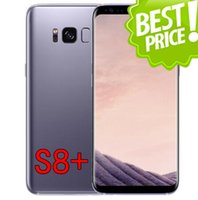"Wholesale Dual Sim Android 3g Ips - Goophone S8 plus Quad core 2GB RAM 16GB ROM 6.2"" IPS 1920*1080 13.0MP camera Real Fingerprint 3G Android phone"